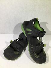 MERRELL Hydro Rapid Youth Boys Sz 7 Black/Green Sport Water Sandal Shoes ZU-1121