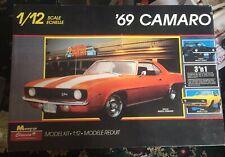 Monogram 1969 '69 Camaro 3-in-1 1:12 Scale ** 2802 Factory Rare Mint 1988