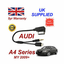 AUDI A4 Series Cable para HTC SAMSUNG LG Sony Nokia Micro USB & Aux 3.5mm Cable