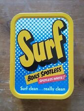 SURF BOILS SPOTLESS Collector tobacco Tin Retro Storage container New