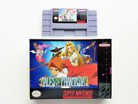 Tales of Phantasia Game / Case SNES Super Nintendo (English Translation) RPG USA