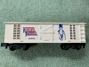American Flyer #24068 Planters Peanuts REPRO boxcar EX+ painted w/decals pike
