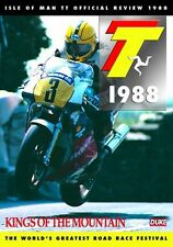 Isle of Man TT - Official Review 1988 (New DVD) Motorcycle Road Racing Bike