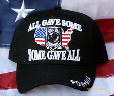 ALL GAVE SOME SOME GAVE ALL CAP POW MIA HAT US ARMY NAVY AIR FORCE MARINES USCG