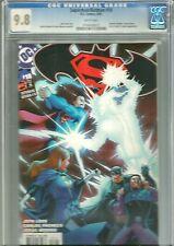 SUPERMAN/BATMAN 18 CGC GRADED 9.8 -  WONDER WOMAN GREEN ARROW, LEGION CAMEO !