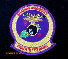 3RD BATTALION 9TH MARINES HAT PATCH SHADOW WARRIORS 3/9 USMC EIGHT BALL WOW!!