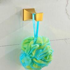 Wall Mounted Robe Hook Bathroom Bath Shower Accessories Towel Hanger Holder Gold