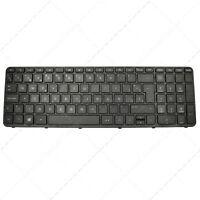 Spanish Laptop Keyboard for HP Pavilion 719853-071 V140546AK1PO Black w/ frame