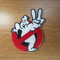 Ghostbusters 2 Logo patch 4 inches tall
