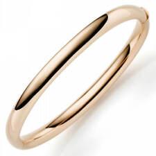 Bangle Bracelet Made Of 750 Gold Rose Gold 0 1/4in Wide Ladies Gold Bangle