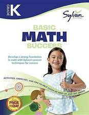 Kindergarten Basic Math Success by Sylvan Learning (Paperback, 2010)