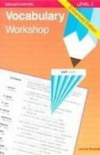 Vocabulary Workshop, Level C, Enhanced Edition - Paperback - VERY GOOD