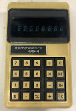Commodore US 4 Vintage Electronic Calculator Tested Working VERY RARE
