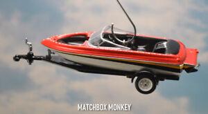 Waterski Wakeboard Speed Boat Christmas Ornament Mastercraft Sea Ray Water Ski