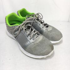 f457b3f3c20b3a Reebok Womens US 10 M Silver Green White Memory Tech Smooth Fuse Running  Shoes