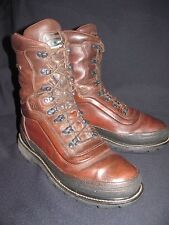 LaCross Gore-Tex Brown Leather 400 G Hunting Work Motorcycle Boot  Men's US 13