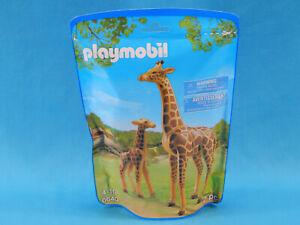 Playmobil 6640 Giraffes 2pcs New Sealed 2014