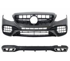 Für Mercedes Benz E-Klasse W213 E63 Amg Look Stoßstange Diffusor Diffuser =01
