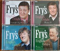 FRY'S ENGLISH DELIGHT SERIES 1 2 3 & 4 - STEPHEN FRY - NEW  BBC CD AUDIO BOOKS