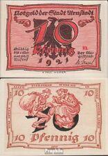 Deutsches Reich Notgeld: 43.1 Notgeld der Stadt Arnstadt, Bst.: n bankfrisch 192
