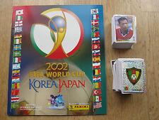 Panini wm WC 2002 Corea Japón 02, en blanco álbum/Empty album + complete set of stickers
