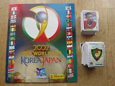 Panini WM WC 2002 Korea Japan 02, Leeralbum/empty album+complete set of stickers