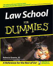 NEW Law School For Dummies by Rebecca Fae Greene