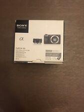 Sony Digital Camera Alpha NEX-6 Power Zoom Lens Kit