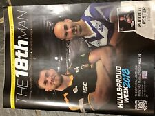 HULL FC RUGBY THE 18TH MAN HOUGHTON'S OPPONENTS MONTHLY PROGRAMME JUNE EDT 05/18