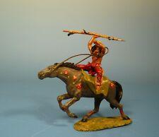 Lineol / Elastolin - Wild West – Indianer zu Pferd – 7cm Serie