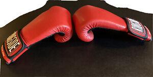 Ringside Super Bag Glove Boxing Sports Gloves Size M Red Black Training Men's