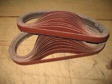 30 12 X 18 120 Grit Aluminum Oxide Sanding Grinding Belts Made In Usa