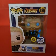 New Funko Pop Glow in the Dark Thor Avengers 286 SF Asia Exclusive Marvel