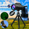 BAK4 80X100 Zoom HD Lens Prism Hiking Monocular Telescope + Phone Clip + Tripod