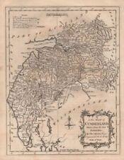 Cumberland 1700-1799 Date Range Antique Europe Sheet Maps