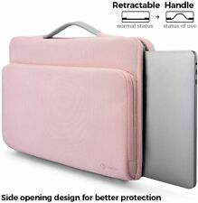 Microsoft Surface Pro7/Pro 6 Sleeve Case Durable Zippered Daily Handle Bag Pink