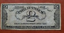 PHILIPPINES CURRENCY Money EMMERGYNCY Circulating Note Dansalan 2 pesos