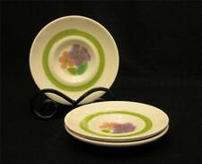 Franciscan FLORAL (USA) Set of 3 Saucers - Excellent Pre-Owned Condition