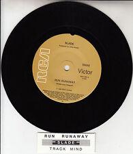 "SLADE Run Runaway 7"" 45 rpm vinyl record + juke box title strip"