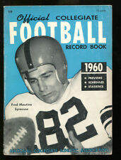 1960 NCAA Official Record Book Fred Mautino Syracuse Ex 15679