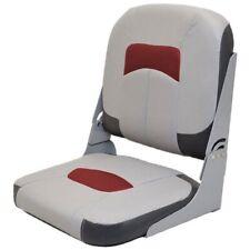 Wise Seating Boat Folding Jump Seat 174727 | Tracker Vinyl Gray Black