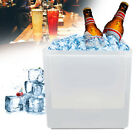 6 Color LED Light Ice Bucket Champagne Wine Drink Beer Ice Cooler Bar Party 3.5L