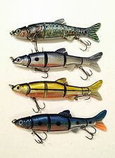 """SPECIAL: 4 Piece """"Killer Crank""""  Jointed Fishing Lure Pack. 15cm."""
