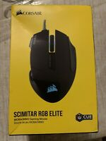 CORSAIR - Scimitar RGB Elite Wired Optical Gaming Mouse - Black