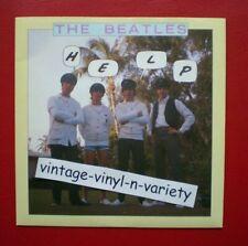 The Beatles ( HELP!/I'M DOWN )  BRITISH IMPORT 45 w/ PIC NM/NM  LENNON/McCARTNEY