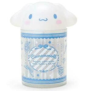 Cute Cinnamoroll Cosmetic Case Q-tip Storage Holder Brush Cotton Pad Swab Box