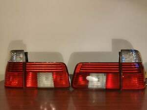 BMW 5 Series E39 TOURING EURO FACELIFT CLEAR LED REAR TAIL LIGHTS