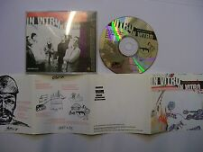 IN VITRO New Boss Same Boss – UK CD EP – Punk, Alternative Rock - RARE!
