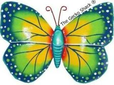 Beautiful Butterfly recycled reclaimed Metal Wall Art garden deck pation entry