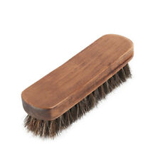 Horse Hair Shoe Shine Boot Polish Buffing Brush Wooden Professional N2C